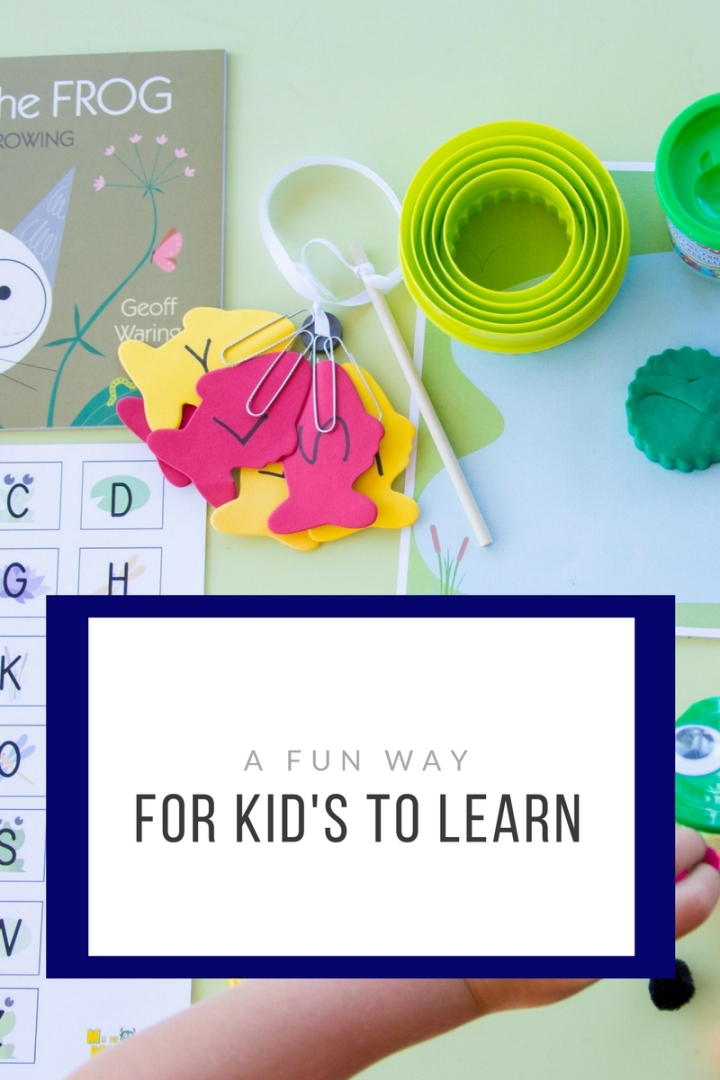 A Fun Way For Kid's toLearn!
