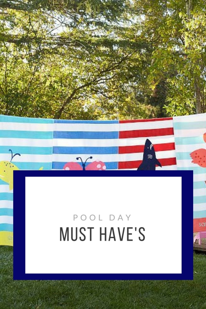 Pool Day MustHave's!