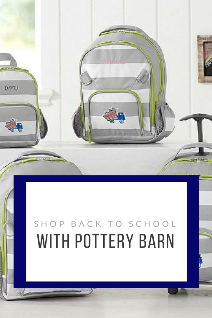 Shop Back to School With Pottery Barn