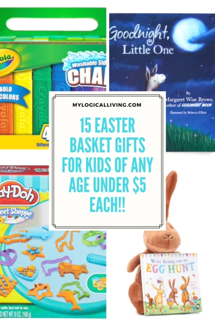 15 Easter Basket Gifts For Kids of Any Age Under $5 Each!!