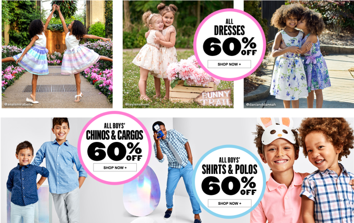 60% Off Children's Outfits!!